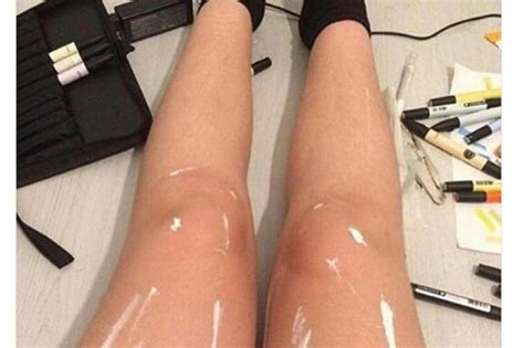 With Legs by Misc Shiny Legs Or Legs With White Paint On Them