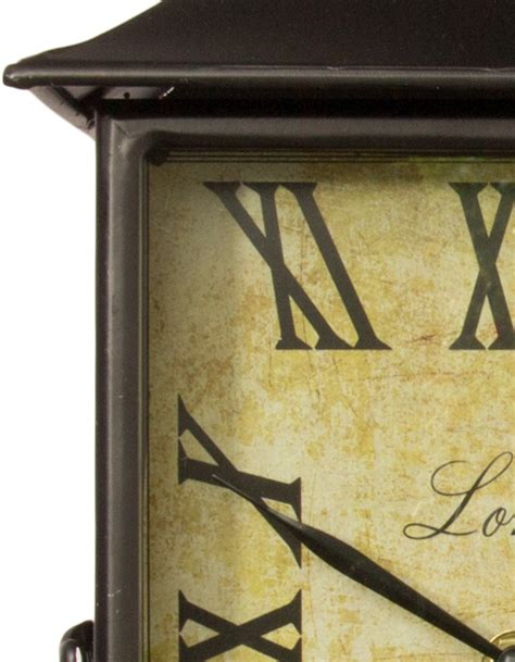 orologi da giardino orologio da giardino stazione ferroviaria rettangolare a