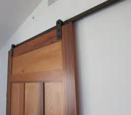 Barn Door Tracks Low Profile Barn Door Hardware Barn Doors For The And The Closet