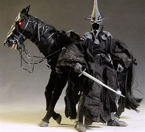 nazgul steed lord of the rings horse action figure by