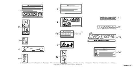 honda gxv340 engine wiring diagram honda get free image