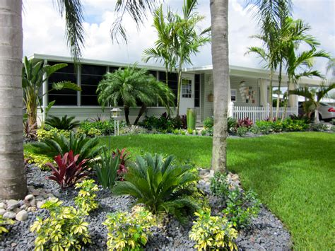 Ideas Florida Landscapes Garden Design Ideas Curb Appeal Florida Backyard Landscaping Ideas