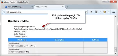 dropbox upgrade how to remove the dropbox update plugin from firefox