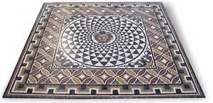 Floor And Decor Store Mosaic Geometric Emblem Medusa 200 X 200 Cm Manufacture