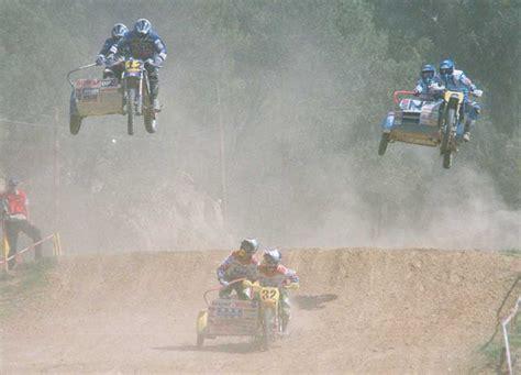 sidecar motocross racing sidecar motocross yes i said sidecar motocross 94 3 kilo