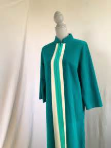 Vanity Fair Zip Front Velour Robe Vintage Vanity Fair Emerald A Line Velour By