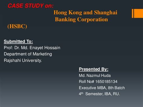 Hsbc Mba Careers by Hsbc Study