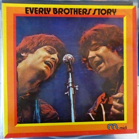 The Brothers A Story story by everly brothers lp gatefold with
