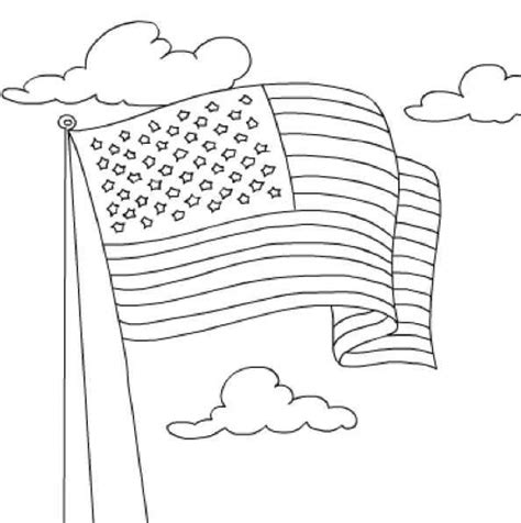 easy preschool coloring pages get this easy preschool printable of flag coloring pages