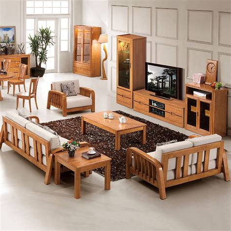 wood furniture living room solid wood living room furniture modern house