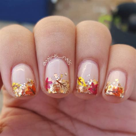 7 Beautiful Fall Nail Polishes by 25 Ultra Pretty Fall Nail Designs To Let Your Fingertips