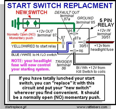 wiring diagram 12 volt 5 terminal switch wiring get free