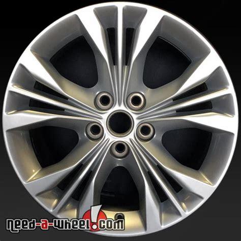 chevy impala stock rims 18 quot chevy impala wheels oem 2014 2015 silver factory rims 5710