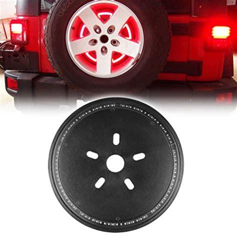 3rd brake light led ring spare tire led 3rd third brake light l ring for jeep