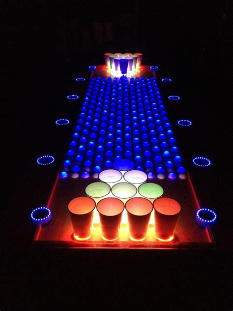 making a beer pong table interactive led beer pong table youtube