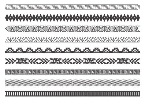 decorative line divider photoshop decorative border divider brushes free photoshop brushes