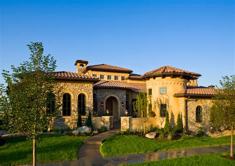 mediterranean tuscan homes spanish mediterranean homes godden sudik leading residential architecture parade of