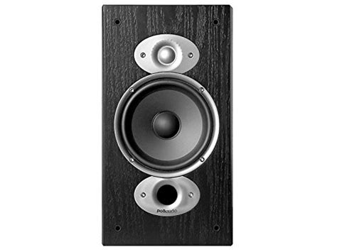 polk audio rti a3 bookshelf speakers pair cherry