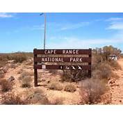 Scenic Yardie Creek Walk Trail In Cape Range National Park