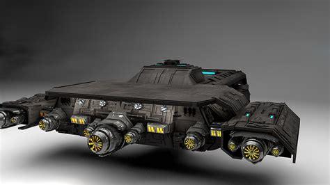 Stargate Daedalus 3d Model daedalus stargate 3d model