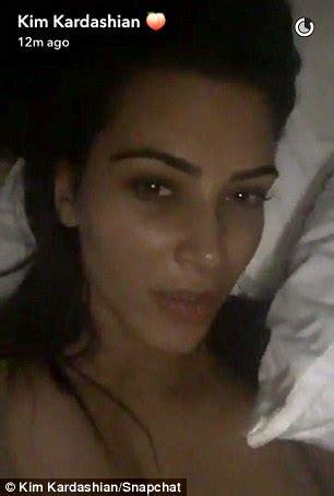 kim kardashian in bed kim kardashian shares incredibly intimate video of herself