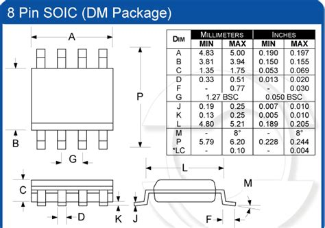 soic 8 footprint dimensions where to find soic 10 smd board adapter