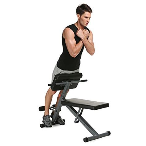 ancheer chair hyperextension bench sit up bench adjustable weight benches back abdominal