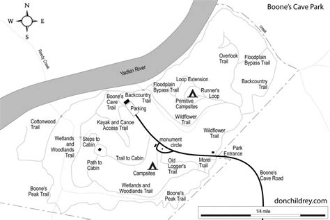 boone map trail areas of the uwharrie part 2 donchildrey