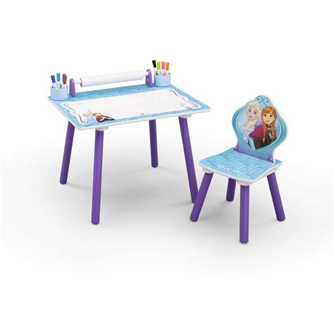 Frozen Table Set by Tikes Easy Adjust Play Table Walmart