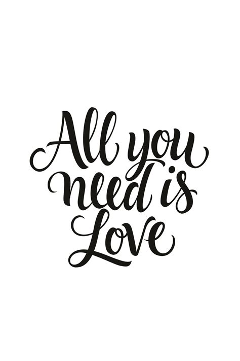You Need Is buy all you need is wall mural free us shipping at