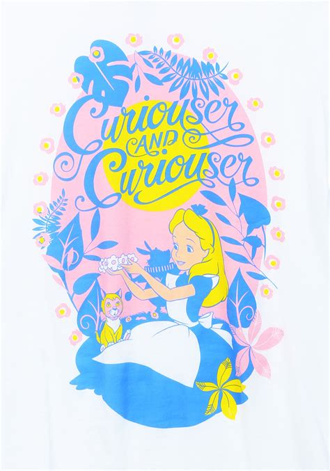 Curiouser And Curiouser by In Curiouser And Curiouser Womens T Shirt