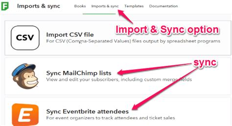 Utterly Simple Alternative To Spreadsheets Fieldbook Mailchimp Import Csv Template