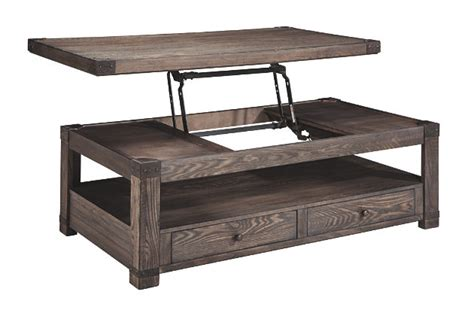 Home Decor Discount Stores by Burladen Coffee Table With Lift Top Ashley Furniture
