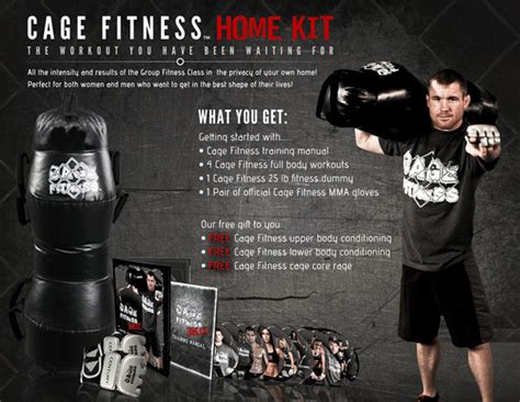 cage fitness matt hughes home mma kit