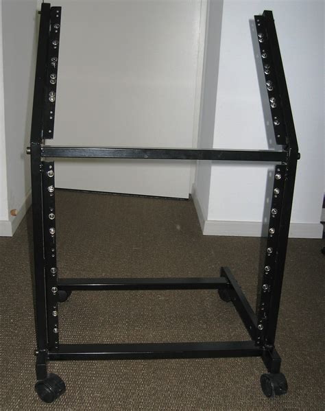 How To Rack 9 by Multi Rack Stand 19 Quot 8u 9u Stagg Multi Rack Stand 19 Quot 8u 9u Audiofanzine