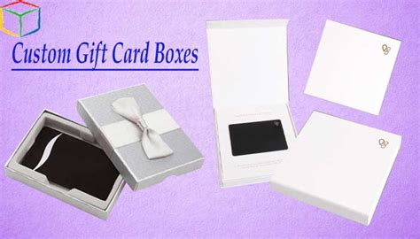 Custom Gift Card Boxes - custom gift card boxes best way to present them