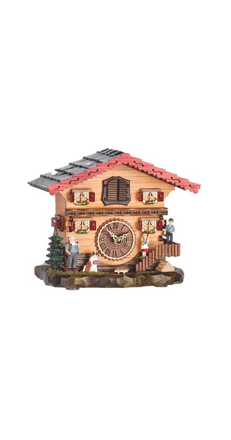 swiss house music quartz cuckoo clock swiss house with music tu 487 qm quartz cuckoo clocks with music