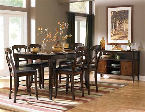 counter height dining room sets kinston counter height dining room set counter height