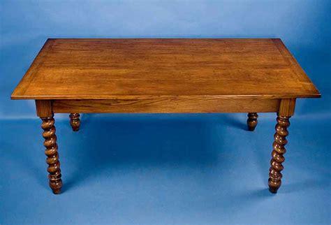 barley twist table legs for sale quartersawn oak barley twist dining table for sale