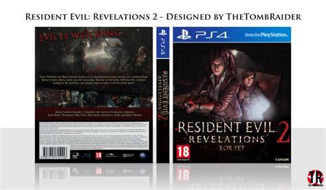Resident Evil Revelation Ps4 resident evil revelations 2 playstation 4 box cover by thetombraider