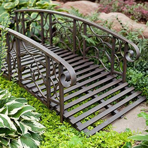 willow creek garden bridge metal 6 ft metal garden bridge willow creek lawn furniture