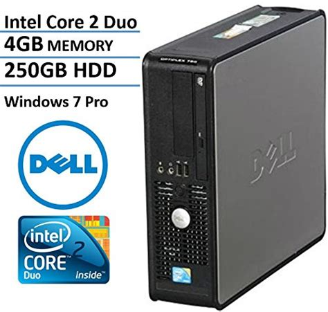 dell optiplex 780 sff desktop business computer pc intel dual 2 93ghz processor 4gb ddr3