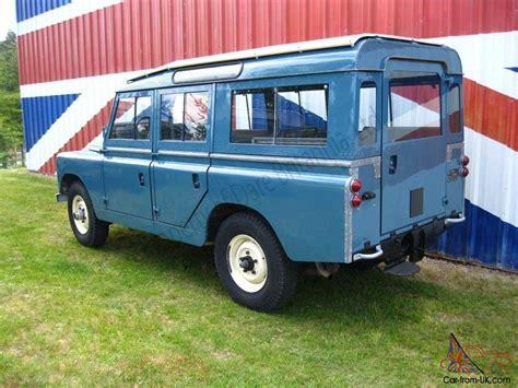 land rover safari for sale 1966 land rover safari station wagon