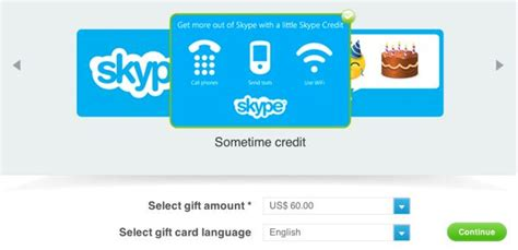 Skype Gift Cards - ahead of the winter holidays skype introduces gift cards