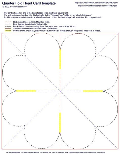 valentines day card quarter fold templates word 517 best cards folding techniques images on
