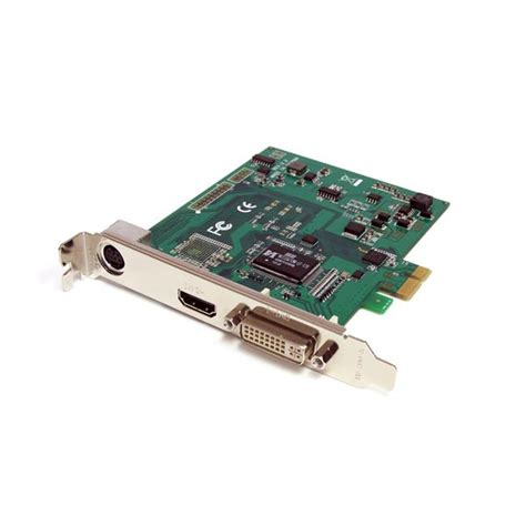 Vga Card Pci Expres hd capture card pci express hdmi dvi vga and component hd capture card startech