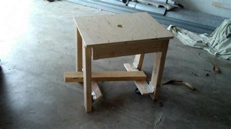 Woodwork Diy Workbench Retractable Casters Pdf Plans