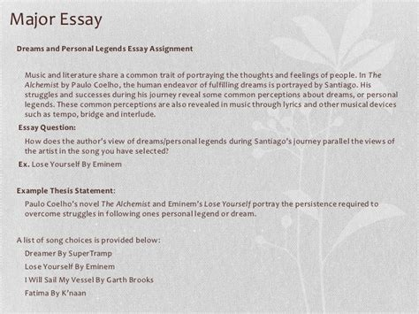 Alchemist Essay by Essay Prompts For The Alchemist