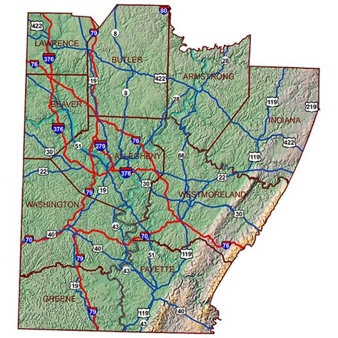 map of southwest pennsylvania welcome to our region southwestern pennsylvania commission