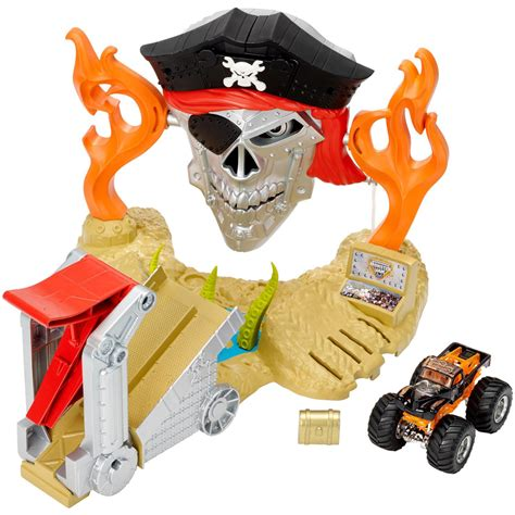 hotwheels monster jam wheels monster jam pirate takedown play set at hobby
